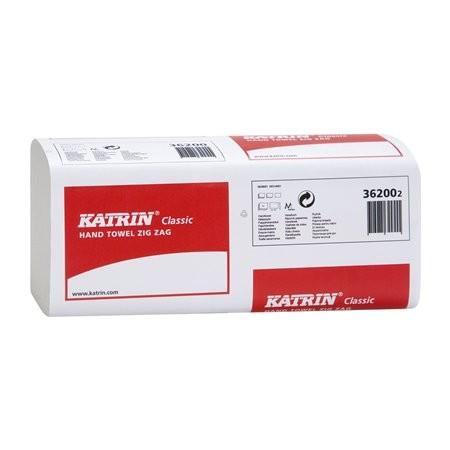 8bbcea8f0 Papierové utierky, Z ohyb, 1 vrstvové, KATRIN, biele | E-shop ...