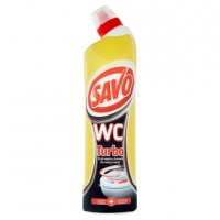 SAVO WC 750ml turbo čierné