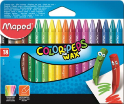 Voskovky MAPED/18 Color Peps
