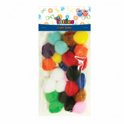 Dekor The Littles pompom25mm/25 646596