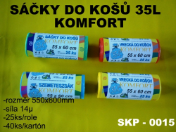 Sáčok do k.35l KOMF. farE