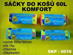 Sáčok do k.60l KOMF.fa/25