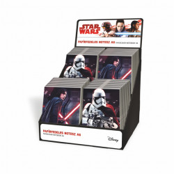 Notes-blok A6 display STAR WARS LZ18