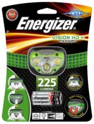 "Lampa na hlavu, 3 LED, 3xAAA, ENERGIZER ""Headlight Vision HD Plus"""