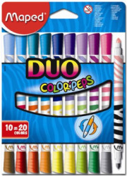 Fixky MAPED DUO/10ks Color Peps Duo