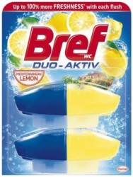 "WC gél, náplň, 2x50 ml, BREF ""Duo Aktiv"", citrus"